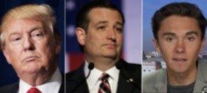 Trump, Cruz and Hogg